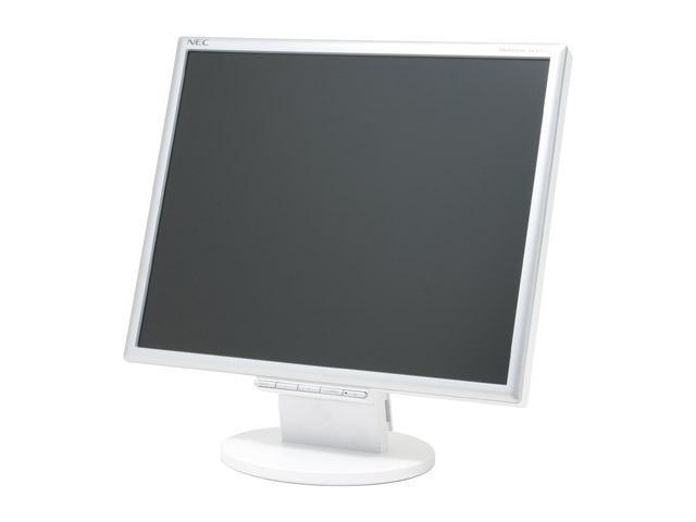 """NEC Display Solutions LCD195VX Silver 19"""" 8ms LCD Monitor 270 cd/m2 550:1"""