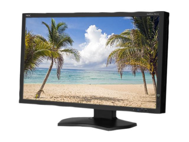 "NEC Display Solutions PA271W-BK Black 27"" 7ms WQHD Height, Swivel & Pivot Adjustable IPS Panel Widescreen LCD monitor 300 cd/m2 1000:1"
