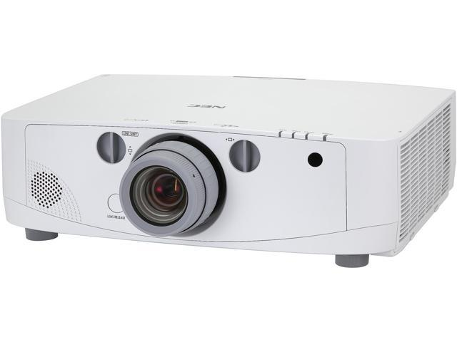 NEC Display Solutions PA500X 1024 x 768 5000 Lumens LCD Advanced Professional Installation Projector