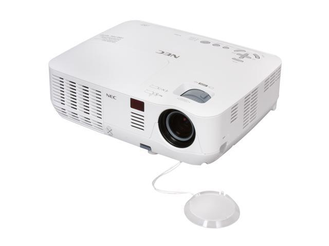 NEC Display Solutions NP-V260 SVGA 800x600 2600 Lumens DLP Mobile 3D Ready Projector 2000:1