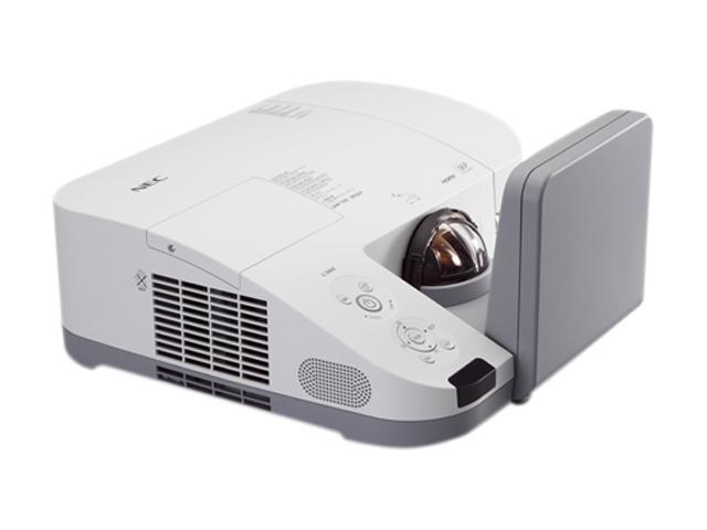 NEC Display Solutions NP-U310W 1280 x 800 3100 Lumens DLP Widescreen Ultra Short Throw Projector
