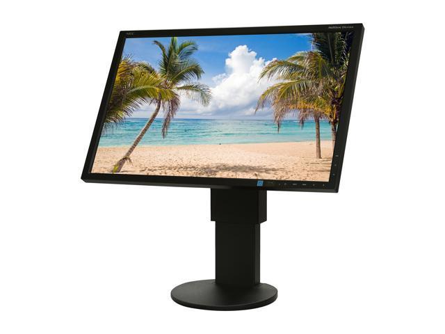 "NEC EA243WM-BK Black 24"" 5ms Widescreen LED Backlight LED Monitor Built-in Speakers"