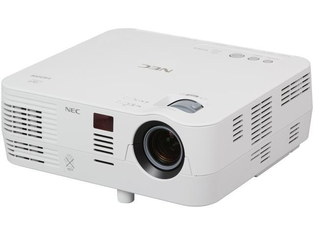 NEC Display NP-VE281X 1024 x 768 XGA 2800 ANSI Lumens, HDMI Input, Kensington Lock, Built-in Wall Color Correction, 3D Ready DLP Projector