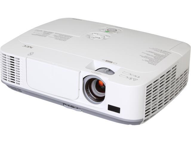 NEC M271X XGA 1024 x 768, 2700 Lumens, Advanced Networking Capabilities, DICOM Simulation Tech, Portable Projector