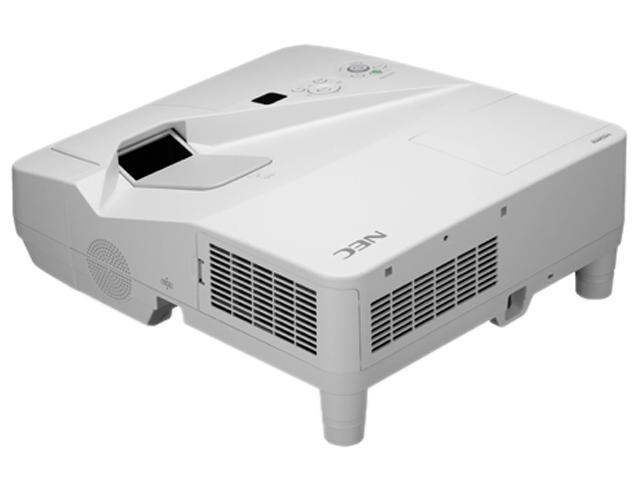 NEC Display Solutions NP-UM330X-WK1 1024 x 768 3300 lumens LCD Projector w/ Wall Mount