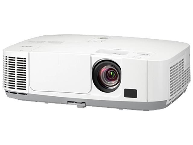 NEC Display Solutions NP-P401W 1280 x 800 4000 lumens LCD 4000-lumen Widescreen Entry-Level Professional Installation Projector