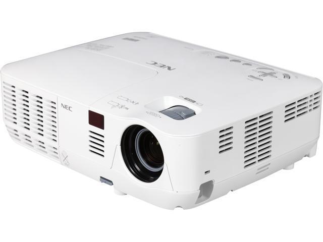 NEC Display NP-V311X 1024x768 XGA 3100 ANSI Lumens, RJ-45 (Crestron LAN Control/Display), HDMI / Dual VGA Inputs, 2 Year Warranty, 3D Ready DLP Projector