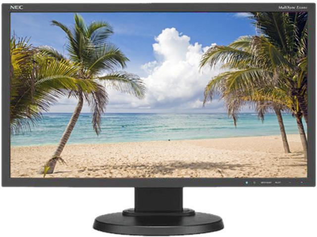 "NEC Display Solutions MultiSync E224WI-BK Black 21.5"" 6ms Widescreen LED Backlight MultiSync LCD Monitor IPS"