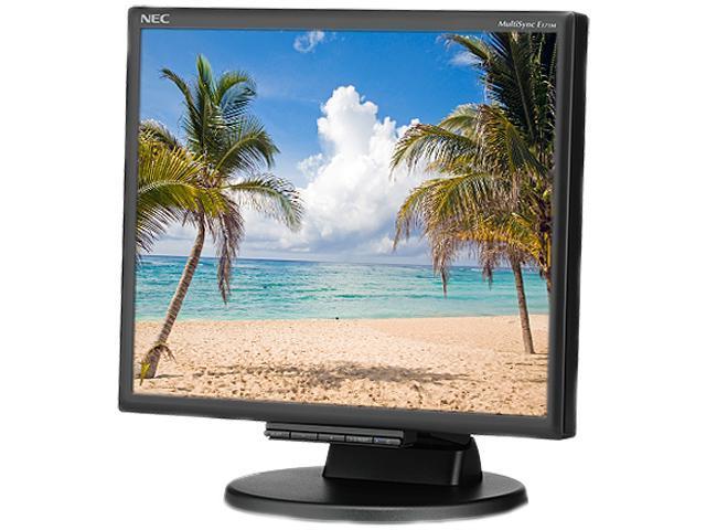 "NEC Display MultiSync E171M-BK 17"" LED LCD Monitor - 5:4 - 5 ms"