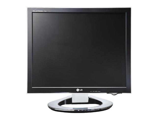 """LG L1780U Black-Silver 17"""" 12ms DVI LCD Monitor 250 cd/m2 500:1"""