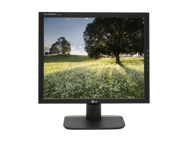 "LG L1718S-BN Black 17"" 8ms LCD Monitor 300 cd/m2 700:1"