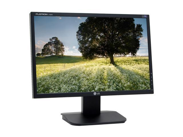 "LG L192WS-BN Black 19"" 5ms Widescreen LCD Monitor 300 cd/m2 700:1"