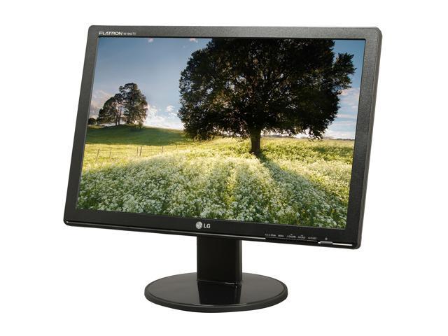 "LG W1942TE-BF Black 19"" 5ms Widescreen LCD Monitor"