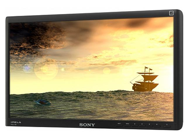 "SONY SSML22F1 Black 21.5"" Widescreen LED Backlight LCD Monitor Built-in Speakers"