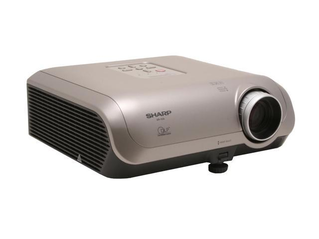 SHARP XR-10XL 1024 x 768 2000 ANSI Lumens Standard Mode 1500 ANSI Lumens Low Power Mode DLP Projector 2000:1