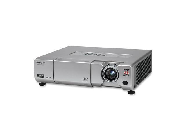SHARP PG-D40W3D 3D-Ready DLP Projector w/ Network