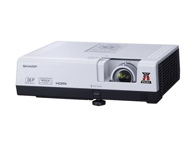 SHARP PG-D3050W 1280 x 800 3000 Lumens DLP Projector