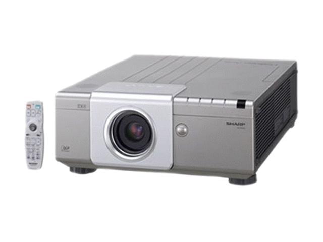 SHARP XGP560WN 1280 x 800 5000 ANSI lumens DLP 3 DLP 5000AL WXGA Data Projector
