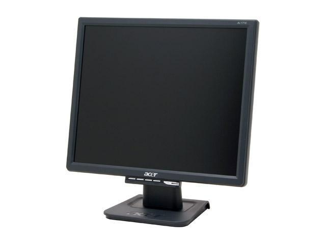 "Acer AL1716BBD Black 17"" 8ms LCD Monitor 300 cd/m2 700:1"