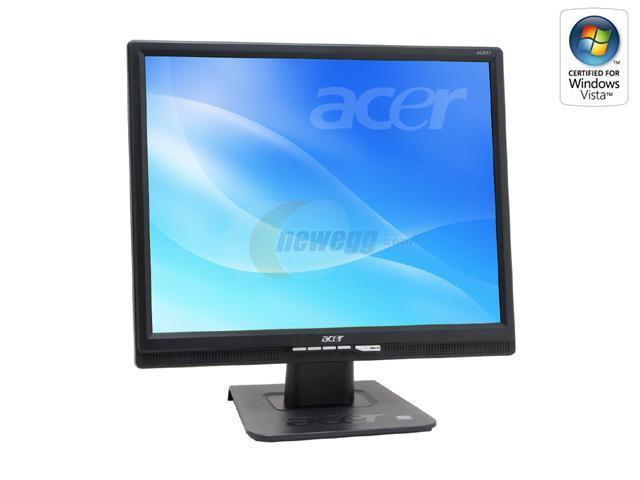 "Acer AL2017BMD Black 20"" 8ms LCD Monitor 300 cd/m2 600:1 Built-in Speakers"