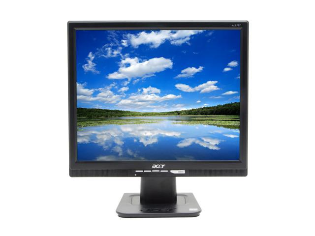 "Acer AL1717BBM Black 17"" 8ms LCD Monitor 300 cd/m2 700:1 Built-in Speakers"