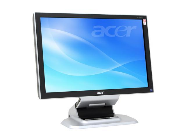 "Acer AL2051W Black/Silver 20"" 8ms Widescreen LCD Monitor 300 cd/m2 800:1 Built-in Speakers"
