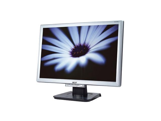 "Acer AL2016WSD Silver-Black 20"" 8ms Widescreen LCD Monitor 300 cd/m2 600:1"