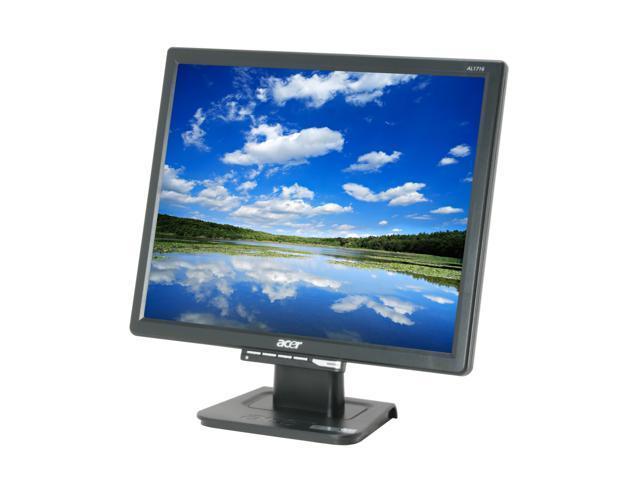 "Acer AL1716 Fb Black 17"" 5ms LCD Monitor 300 cd/m2 800:1"