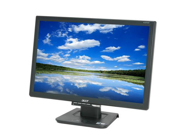 """Acer AL2016WBbd Black 20"""" 5ms Widescreen LCD Monitor 300 cd/m2 800:1"""