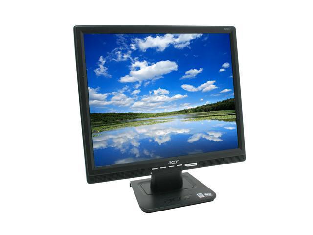 "Acer AL1717Fbd Black 17"" 5ms LCD Monitor 300 cd/m2 800:1 Built-in Speakers"