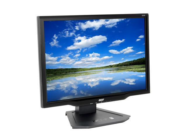 """Acer X222Wbd Black 22"""" 5ms Widescreen LCD Monitor with HDCP support 300 cd/m2 1000:1"""
