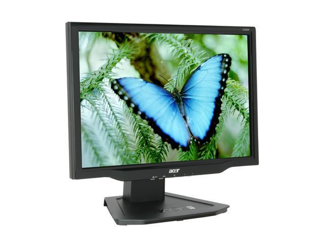 "Acer X192Wbd Black 19"" 5ms Widescreen LCD Monitor 300 cd/m2 1000:1"