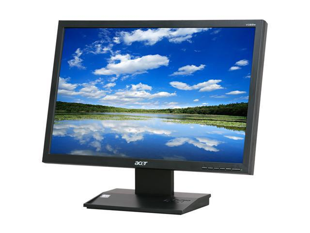 "Acer ET.CV3WP.E06 V193WEJbm (ET.CV3WP.E06) Black 19"" 5ms Widescreen LCD Monitor Built-in Speakers"