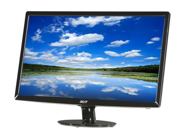 """Acer S231HLbid (ET.VS1HP.001) Black 23"""" 5ms Widescreen LED Backlight LED-Backlight LCD monitor"""