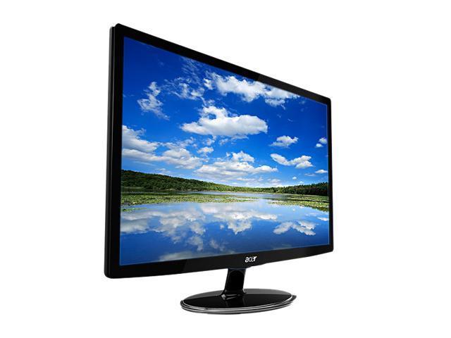 "Acer S242HLbid Black 24"" 5ms Full HD HDMI LED BackLight LCD Monitor Slim Design 250 cd/m2 ACM (12,000,000:1) 1,000:1"