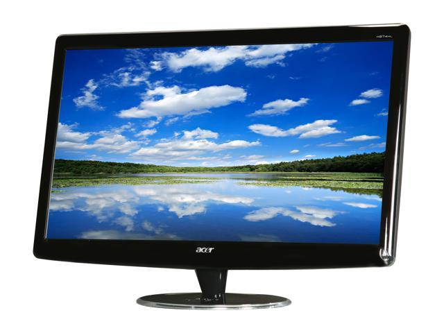 "Acer H Series H274HLbmd (ET.HH4HE.005 ) Black 27"" 5ms Widescreen LED Backlight LCD Monitor Built-in Speakers"