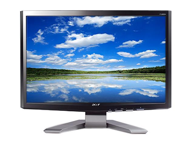 "Acer P201Wd Silver 20"" 5ms Widescreen LCD Monitor"