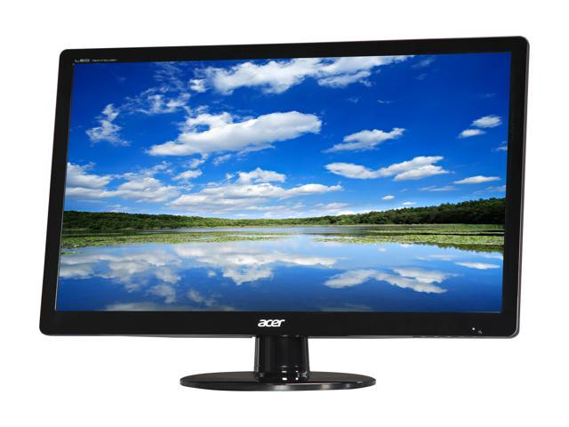 Acer S Series S230HL Abd Black 23