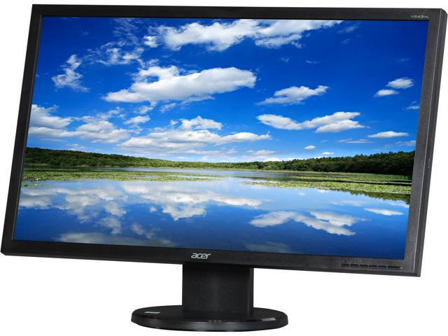 "Acer UM.FV3AA.D01 V243HL DJObmd (UM.FV3AA.D01) Black 24"" 5ms LED Backlight LED Monitor Built-in Speakers"