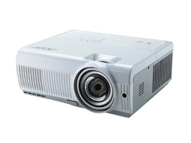 Acer S1210 3D Short-Throw 1024 x 768 2500 lumens standard 2000 lumens economy DLP Projector