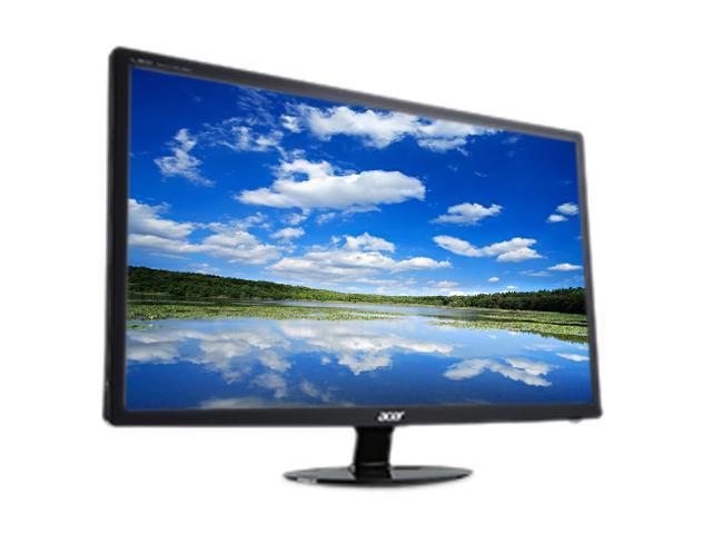 """Acer UM.HS1AA.C01 S271HLCbid (UM.HS1AA.C01) Black 27"""" 6ms Widescreen LCD Monitor"""