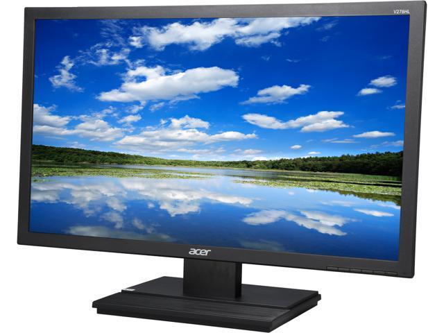 Acer V276HLBMD Black 27