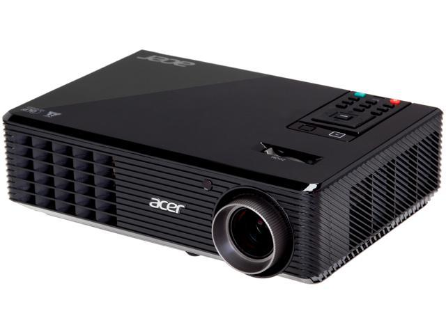 Acer X1163 800 x 600 3,000 ANSI Lumens (Standard) 2,400 ANSI Lumens (ECO) DLP Projector