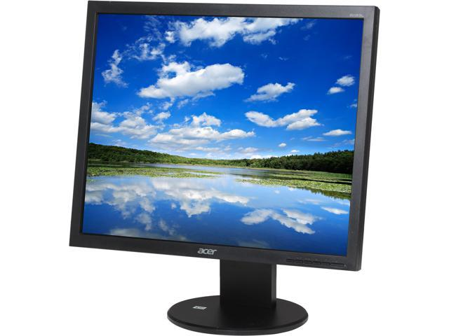 "Acer B193LAJObmdh (UM.CB3AA.A02) Black 19"" 5ms LED Backlight LCD Monitor Built-in Speakers"