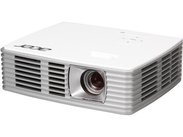 Acer K132 1280x800 WXGA 600 ANSI Lumens 16:10 Aspect Ratio, HDMI/MHL Input, w/ Carrying Bag, Keystone Correction, 3D Ready – 120Hz Frame ...