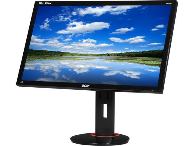 Acer  XB270H Abprz Black  27