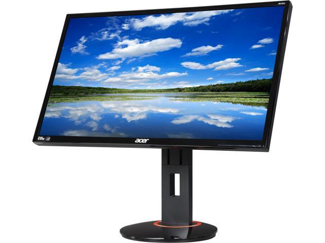 Acer XB270HU bprz Black 27'' 144 Hz WQHD G-SYNC Widescreen LED Backlight LCD Monitor IPS 350 cd/m2 1,000:1