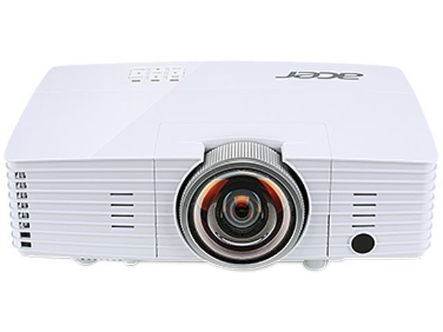 Acer S1385WHNE 1280 x 800 3,200 ANSI Lumens (Standard), 2,560 ANSI Lumens (ECO) DLP Projector