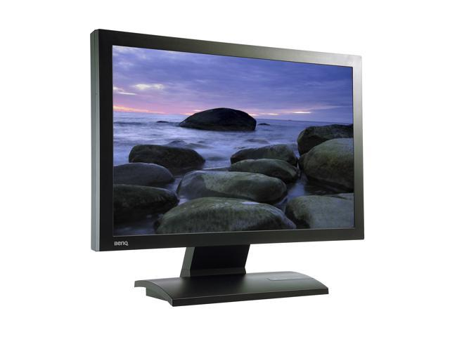 "BenQ FP202W Black 20.1"" 8ms Widescreen LCD Monitor 300 cd/m2 600:1"