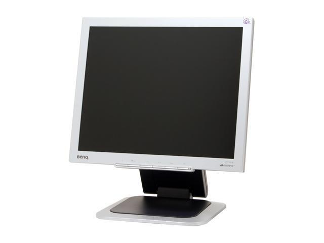 """BenQ FP72G+S Silver-Black 17"""" 8ms LCD Monitor with Height Adjustments 250 cd/m2 500:1"""
